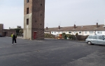 Grays fire station , Plane and relay Supreme Asphalt from Aggregate Industries